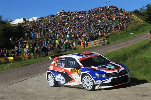 Sterk Resultaat Bernhard Ten Brinke In Loodzware WK-rally 1
